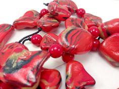 Collana bracciale ed orecchini con finte pietre di oensahandmade