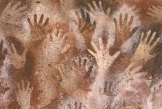 Possible idea for room decorating? Premake handprints on brown paper and then hang? Prehistoric Cave Art Project: The Cave of the Hands Prehistoric Age, Stone Age Art, Cave Quest, Vbs Crafts, Ocean Crafts, Iron Age, Preschool Art, Art Plastique, Elementary Art