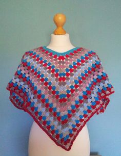 Free children's poncho pattern available from Knit for Peace website
