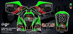 Fully custom design - Anthrax Paintball