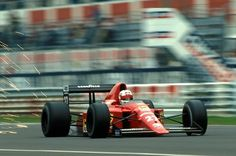 Nigel Mansell - Ferrari  640 Ferrari 035/5 3.5 V12 1989 Italian Grand Prix, Monza