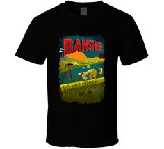 Banshee Action Tv Show Series Poster Fan T Shirt