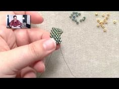 Beadweaving Basics: Peyote Decreases on the Inside of a Row - YouTube