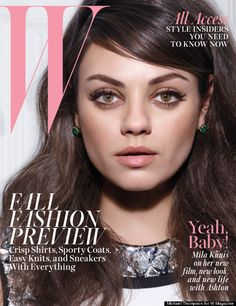 Pregnant Mila Kunis Reveals To W Magazine, 'I Never Wanted To Get Married'