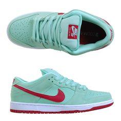 Vertical Urge - Nike SB Dunk Low Medium Mint/Gym Red/White, $84.95 (http://store.verticalurge.com/nike-sb-dunk-low-medium-mint-gym-red-white/)