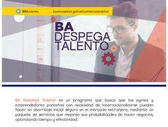 EXPORTAR ARQUITECTURA | BA DESPEGA TALENTO  Despega Talento es un programa arancelado que permite que cada vez que un emprendedor/empresario decida viajar a cualquiera de los destinos elegidos, tengan la contención que necesiten.  Inscripciones hasta el viernes 3 de marzo de 2017.  Más info: http://ly.cpau.org/2lWBD75  #NoticiasCPAU #RecomendadoARQ