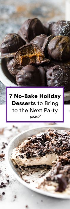 We know it's hard, but just try to share 'em. #greatist https://greatist.com/eat/no-bake-desserts-for-the-holidays
