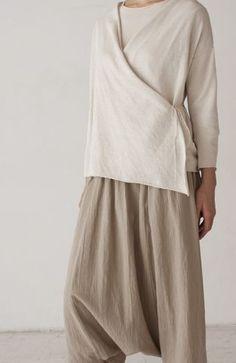 Hemp linen straight drop dress by evam eva - Recherche Google