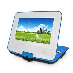 #Simple #Elegant 9-Inch MTK1389VDE-Q Portable DVD Player with Card Reader/FM/COPY/Ebook/TV-out
