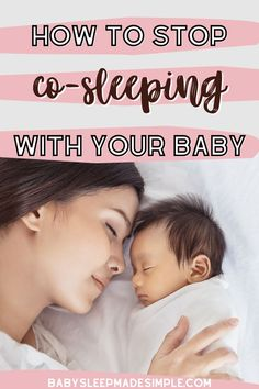 Do you need proven and tested tips to stop co-sleeping? This guide has got you covered. These are the most easy steps you can take to stop co-sleeping without a fight, gently, to get your baby accepting the crib. You'll finally get your bed back, and provide a safe sleep space for your little one. Transition to a crib and stop co-sleeping with these best tips! #cosleeping #babycosleeping #stopcosleeping #babysleeptips #childsleep #babysleep #momtips Baby Co Sleeper, Baby Sleep Schedule, Sleeping Through The Night, Baby Development, Kids Sleep, Everything Baby, Tummy Time, Baby Milestones, Infant Activities