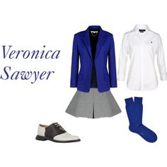 Veronica Sawyer~ Heathers the Musical by seewhereweland on Polyvore featuring Polo Ralph Lauren, Vanessa Bruno and Band of Outsiders