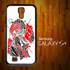 B1174 Batman joker harley quinn typography art Samsung Galaxy S4 case | statusisasi - Accessories on ArtFire