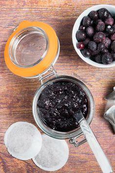 Homemade Earl Grey Blueberry Paleo Jam without pectin!