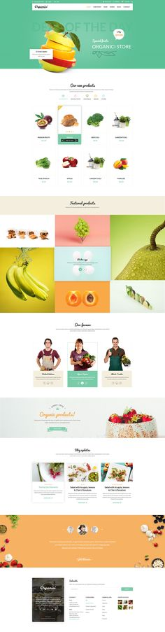Organici is the premium PSD template for Organic Food Shop. Built especially…