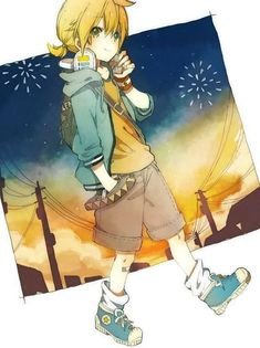 Browse VOCALOID Len Kagamine collected by Sayko Tamaki and make your own Anime album. Len Y Rin, Kagamine Rin And Len, Vocaloid Characters, Manga Characters, Hatsune Miku, Fire Flower, Manga Boy, Anime Boys, Fandom