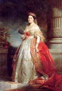 Franz Xaver Winterhalter, Trianon Versailles, Laetitia, Victorian Art, Victorian Paintings, Victorian Portraits, A4 Poster, Kaiser, Napoleon