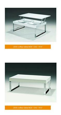 J030 White Coffee Table
