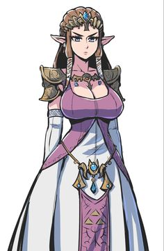 Princesa Zelda, Zelda Twilight Princess, Thicc Anime, Female Anime, Video Game Art, Video Games, Monster Girl, Super Smash Bros, Anime Art Girl