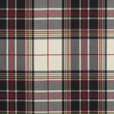 Renwick Plaid - Ermine - Plaids & Checks - Fabric - Products - Ralph Lauren Home - RalphLaurenHome.com
