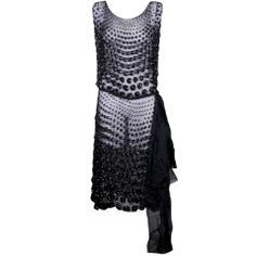 Deco Beaded Dot Dance Dress