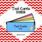 This bundle contains 52 Task Cards.  Each task card is larger and longer than normal (6-10 questions each) so students can work on just one card. M...