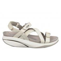 Women s Kiburi White Sandals – Buy MBT Kiburi White leather women s sandal  online only for  229.0 3e5410da18