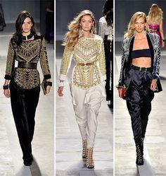 Kendall Jenner, Gigi Hadid, and Karlie Kloss wowed on the H&M x Balmain runway.