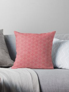 """Tea Rose #1"" Throw Pillow by Kettukas 