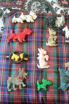 Dog Jewelry, Jewelry Art, Jewellery, Dog Pin, Fox Terrier, Vintage Dog, Miniture Things, Westies, Pet Birds