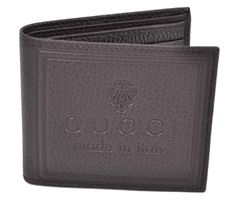 New Gucci Men's Brown Leather Hysteria Crest Logo Bifold Wallet. Get the lowest price on New Gucci Men's Brown Leather Hysteria Crest Logo Bifold Wallet and other fabulous designer clothing and accessories! Shop Tradesy now