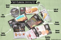 Party Planning Survival Kit by playpartypin.com #HappyAllTheWay #shop #cbias #partyplanning #snacks #parties #food