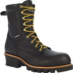 With its comfort, durability, waterproof protection and hard-wearing outsole, this Great Oak GORE-TEX®Logger Work Boot ( is ideal for you. Shoe Cobbler, Logger Boots, Dockers, Office Shoes, Outfit Office, Boating Outfit, Skinny, Womens Fashion For Work, Denim Top