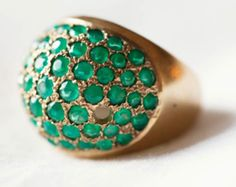 I want this ring, it is my birthstone{emerald} & I hardly ever find a ring I like.