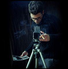Alex Alexander | Guy with Camera. Medium Format. Mamiya.