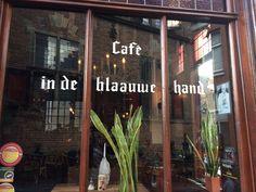 Café In de blaauwe hand in Nijmegen, Gelderland