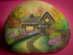 Живопись на камнях от Яны Хачикян - Ярмарка Мастеров - ручная работа, handmade