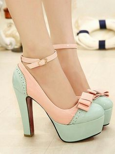 Only Solid Pumps Women Pastel