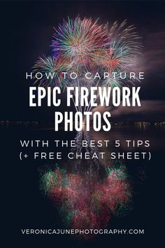Ready for Holiday Photos of fireworks or sparklers? Need a free Cheat Sheet? If you're preparing for the of July or New Years Eve but can't capture the lights with your camera, check out these 5 best tips for shutter speed and long exposure to rock Photography Terms, Night Time Photography, Fireworks Photography, Sparkler Photography, Photography Settings, Photography Cheat Sheets, Exposure Photography, Photoshop Photography, Photography Business