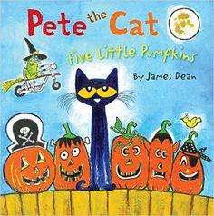 Pete the Cat: Five Little Pumpkins: James Dean: 9780062304186: Amazon.com: Books