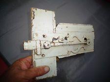 Ancienne Poignée Loquet de Porte Portail à Battant Placard Poignée Art Populaire