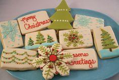 Christmas Cookies by Sugar & Meringue / E-A-T, via Flickr
