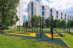 Outdoor Gym, Sidewalk, Sidewalks, Pavement, Walkways