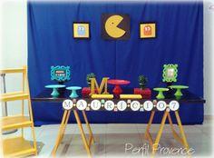 Decoração Perfil Provence Tema Pac Man