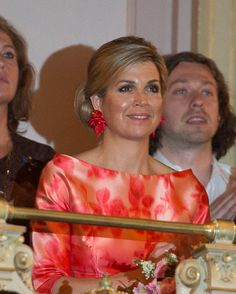 Queen Maxima of The Netherlands attend the opening of Holland Festival on June 4 2016 in Amsterdam Netherlands.