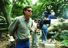 "Kevin Reynolds on the set of ""Robin Hood: Prince of Thieves"" (1991)"