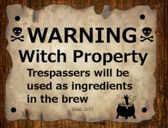 Witch property!
