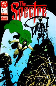The Spectre vol. 2 n°9 (1987). Cover by Mike Mignola