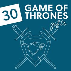 30 Game of Thrones Gift Ideas- for the game of thrones fans in your life. Diy Gifts For Boyfriend, Boyfriend Anniversary Gifts, Gifts For Him, Boyfriend Stuff, Game Of Thrones Gifts, Game Of Thrones Fans, True To The Game, Makeup For Older Women, 30th Party