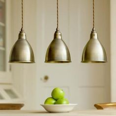 Red pendant lamp  perfect for over the future kitchen sink