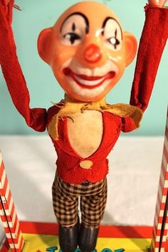 1950s Ohio Art Toy Joe Circus Clown